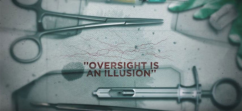 """Oversight is an Illusion"": (watch clip from film)"