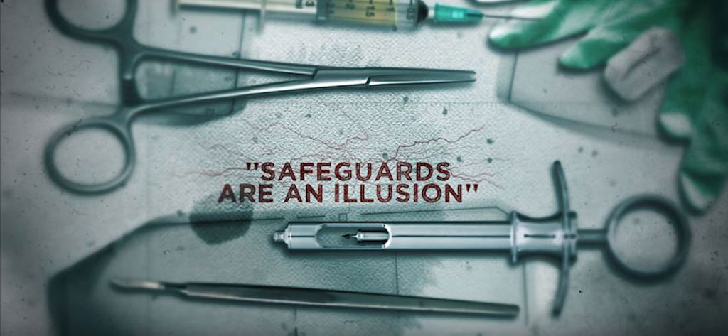 """Safeguards are an Illusion"": (watch clip from film)"
