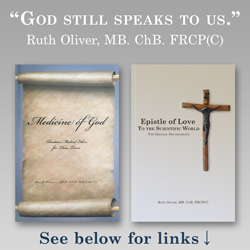 Books by Ruth Oliver: Medicine of God and Epistle of Love